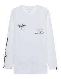TRUE RELIGION Palms Lettering White