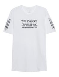 TRUE RELIGION Crewneck Shirt White