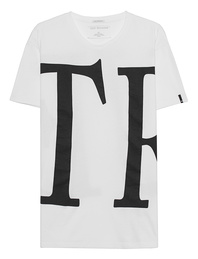 TRUE RELIGION Letters Shirt White