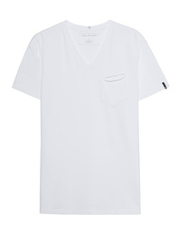 TRUE RELIGION V-Neck White