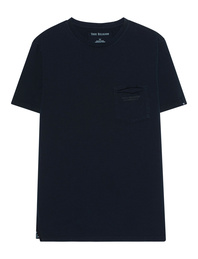 TRUE RELIGION VNeck Pocket Navy