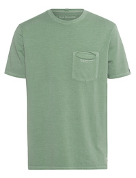 TRUE RELIGION Logo Pocket Green