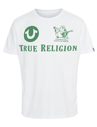 TRUE RELIGION Logo Chill Bill White
