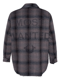 TRUE RELIGION Flannel Most Wanted Checked Brown