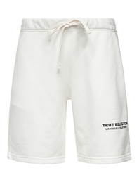 TRUE RELIGION Organic Cotton Short Off White