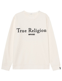 TRUE RELIGION EMB Off White