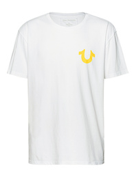 TRUE RELIGION Horseshoe Yellow White