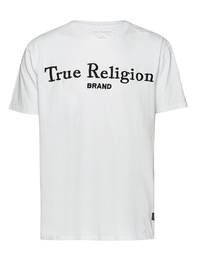 TRUE RELIGION Logo Embroidery White