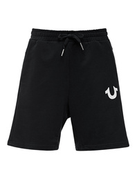 TRUE RELIGION Logo Short Black