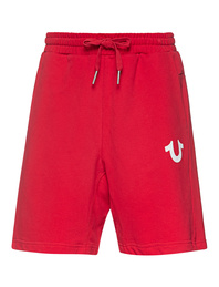 TRUE RELIGION Short Logo Red