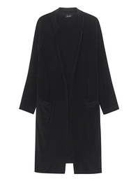JADICTED Long Coat Black