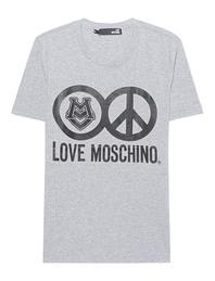 LOVE Moschino Love Logo Grey