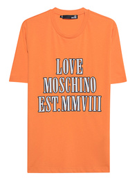 LOVE Moschino Love Wording Orange
