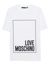 LOVE Moschino Logo Print White