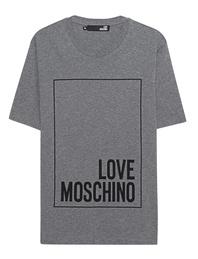 LOVE Moschino Logo Print Grey