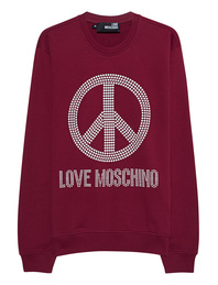 LOVE Moschino Peace Bordeaux