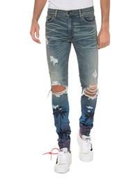 Amiri Night Palm Trasher Blue