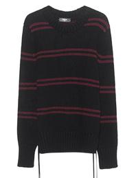 Amiri Cash Loose Stripes Black