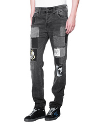 TRUE RELIGION Rocco Patched Black