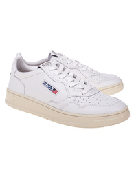 Autry Aulm Low Leather White
