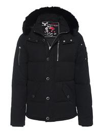 MOOSE KNUCKLES 3Q Fur Black