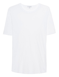 JAMES PERSE Clear Jersey White