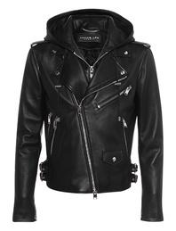 JACOB LEE Biker Leather Black