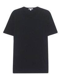 JAMES PERSE Short Sleeve Crew Neck Black