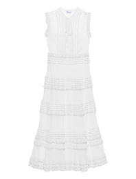 RED VALENTINO Long Lace White