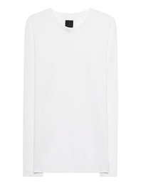 THOM KROM Rolled Hem Long Off-White
