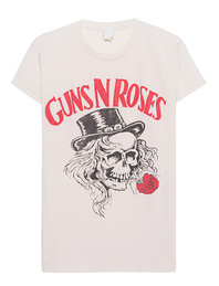 MadeWorn Guns N Roses Dirty White