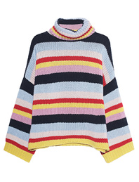 FINE EDGE Turtleneck Multicolor
