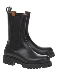 Ennequadro Bootie High Oversize Black