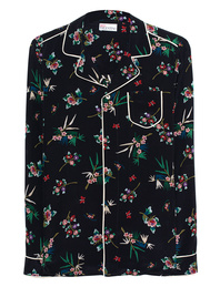 RED VALENTINO Pyjama Flower Black