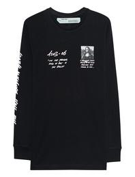 OFF-WHITE C/O VIRGIL ABLOH Mona Lisa Longsleeve Black
