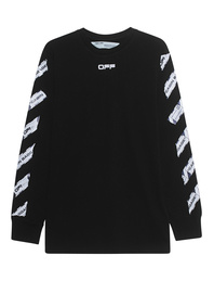 OFF-WHITE C/O VIRGIL ABLOH Airport Tape Longsleeve Black