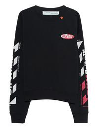 OFF-WHITE C/O VIRGIL ABLOH Diag Split Logo Black