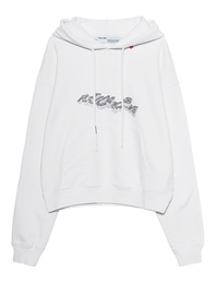 OFF-WHITE C/O VIRGIL ABLOH Hoodie 3D Pencil Over White