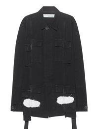 OFF-WHITE C/O VIRGIL ABLOH Diag Spray Field Jacket Black