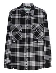 OFF-WHITE C/O VIRGIL ABLOH Checked Flannel Black