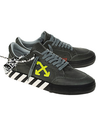 OFF-WHITE C/O VIRGIL ABLOH Low Vulc Sustainable Leather Grey