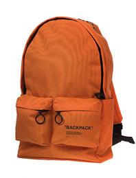 OFF-WHITE C/O VIRGIL ABLOH Backpack Quote Orange