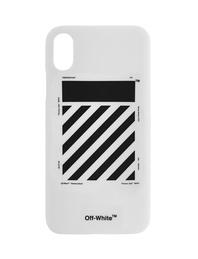 OFF-WHITE C/O VIRGIL ABLOH iPhone X DIAG White