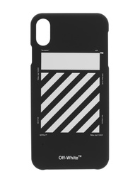 OFF-WHITE C/O VIRGIL ABLOH Diag iPhone Xs MAX Black