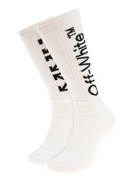 OFF-WHITE C/O VIRGIL ABLOH Arrows Socks White