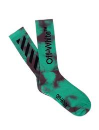 OFF-WHITE C/O VIRGIL ABLOH Tye Dye DIAG Green