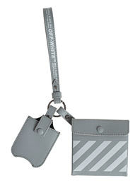OFF-WHITE C/O VIRGIL ABLOH Safety Kit DIAG Leather Grey