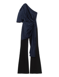 SOLACE LONDON Jumpsuit Tandee Navy