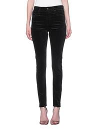 AG Jeans Farrah Skinny Super Black