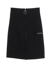OFF-WHITE C/O VIRGIL ABLOH High Waist Zipper Black
